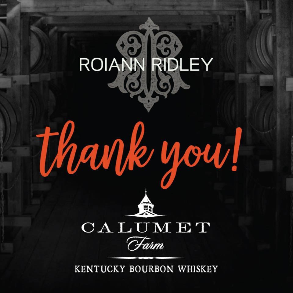 Calumet Farm Bourbon & Roiann Ridley