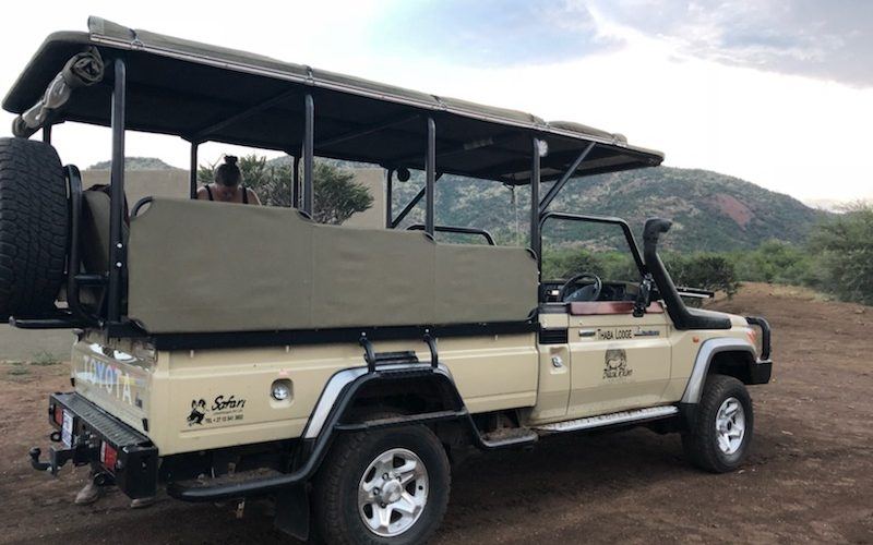 Thaba Lodge game drive vehicle