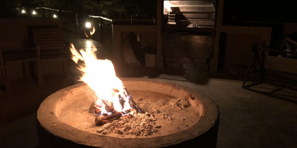 Thaba Luxury Lodge fire pit